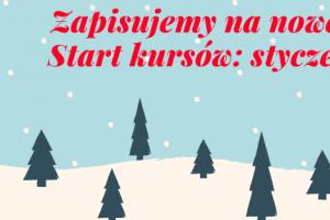 Zapisz się na nowe kursy językowe w Nowym Roku 2019!